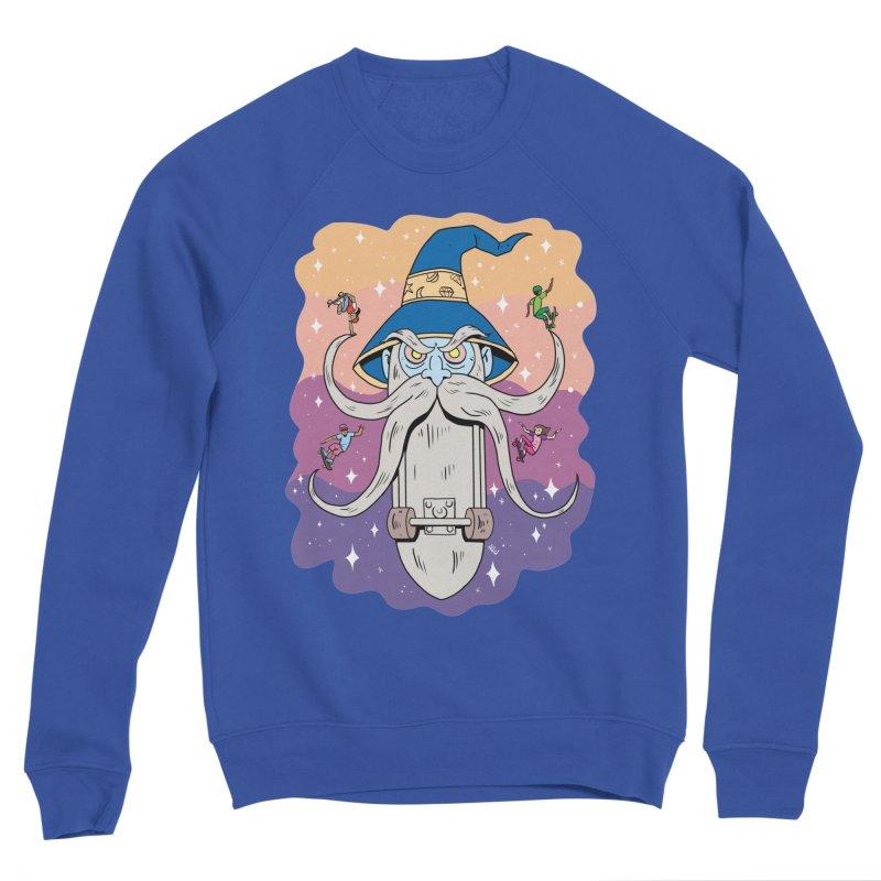 Skatewizard Men's Sweatshirt by brianmcl's Artist Shop