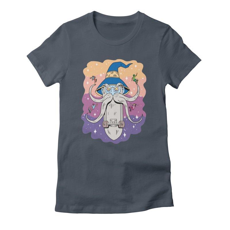 Skatewizard Women's T-Shirt by brianmcl's Artist Shop