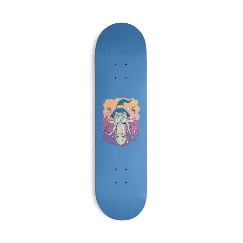 Skatewizard Accessories Skateboard by brianmcl's Artist Shop