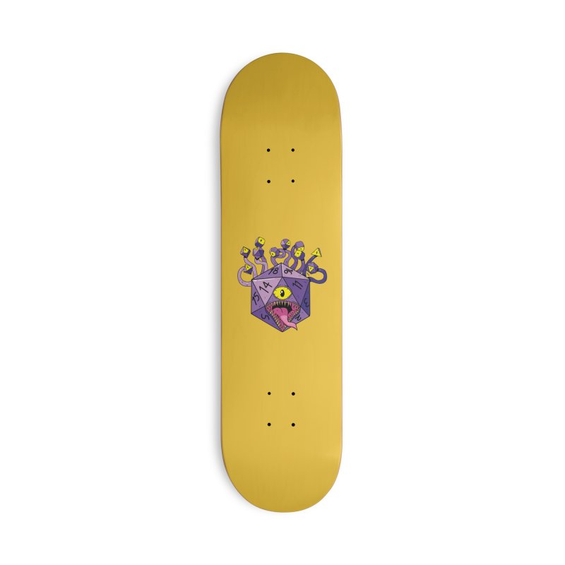 Beholdice Accessories Skateboard by brianmcl's Artist Shop