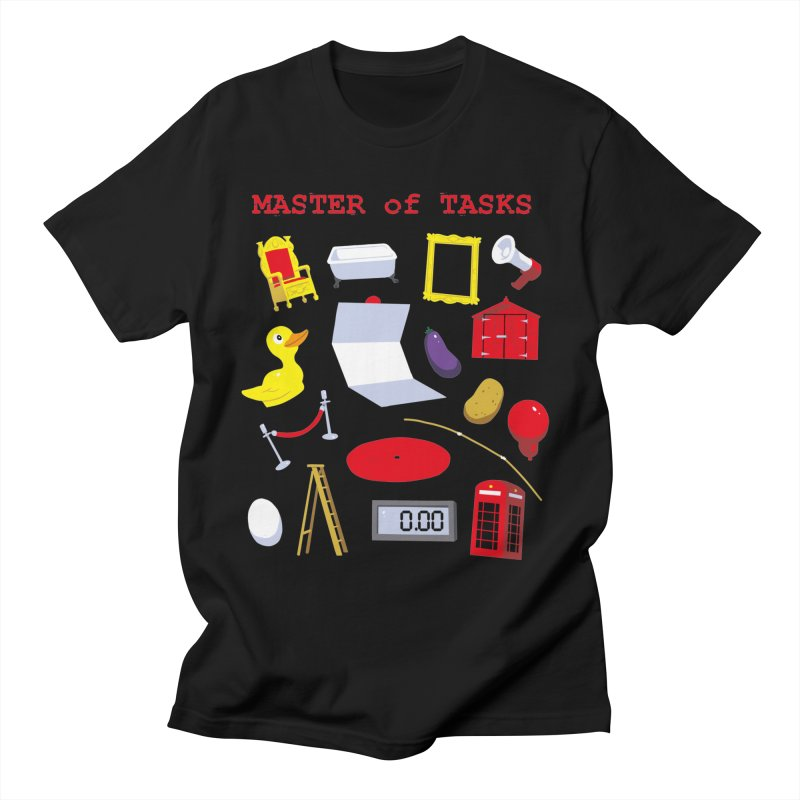 Master of Tasks Men's T-Shirt by brianmcl's Artist Shop