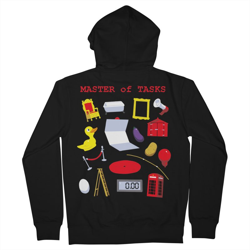 Master of Tasks Men's Zip-Up Hoody by brianmcl's Artist Shop