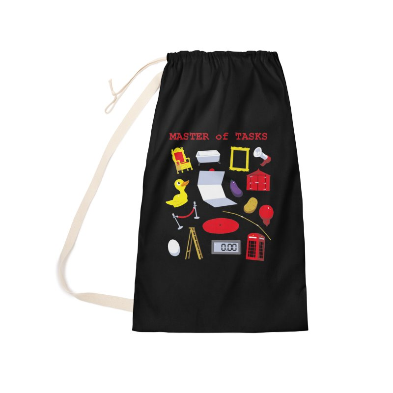 Master of Tasks Accessories Bag by brianmcl's Artist Shop