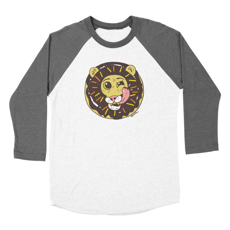 Donut Lion Women's Longsleeve T-Shirt by brianmcl's Artist Shop