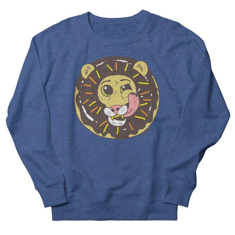 Donut Lion Men's Sweatshirt by brianmcl's Artist Shop