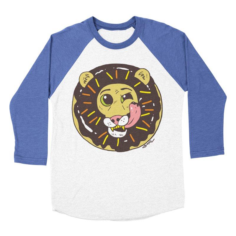 Donut Lion Men's Longsleeve T-Shirt by brianmcl's Artist Shop
