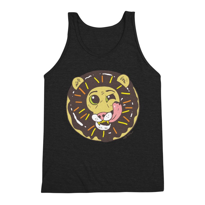 Donut Lion Men's Tank by brianmcl's Artist Shop