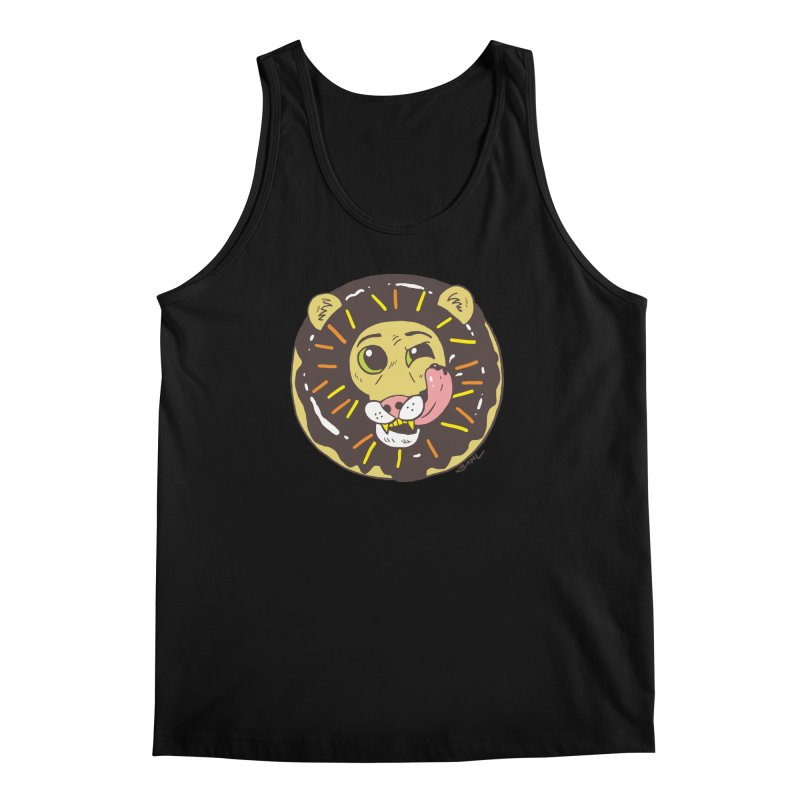 Donut Lion Men's Regular Tank by brianmcl's Artist Shop