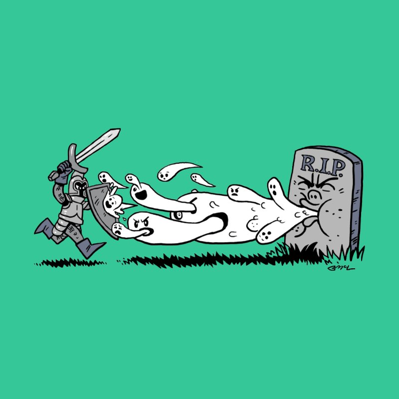 Graveyard Barf Men's Sweatshirt by brianmcl's Artist Shop