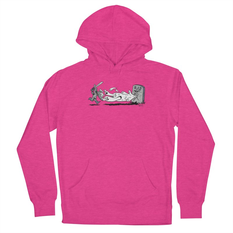 Graveyard Barf Women's French Terry Pullover Hoody by brianmcl's Artist Shop