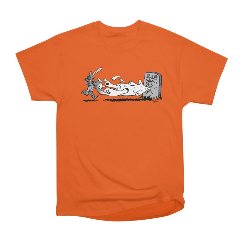 Graveyard Barf Men's T-Shirt by brianmcl's Artist Shop