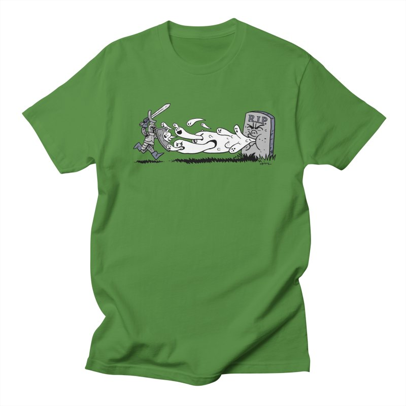 Graveyard Barf Men's T-Shirt by brianmcl's Artist Shop