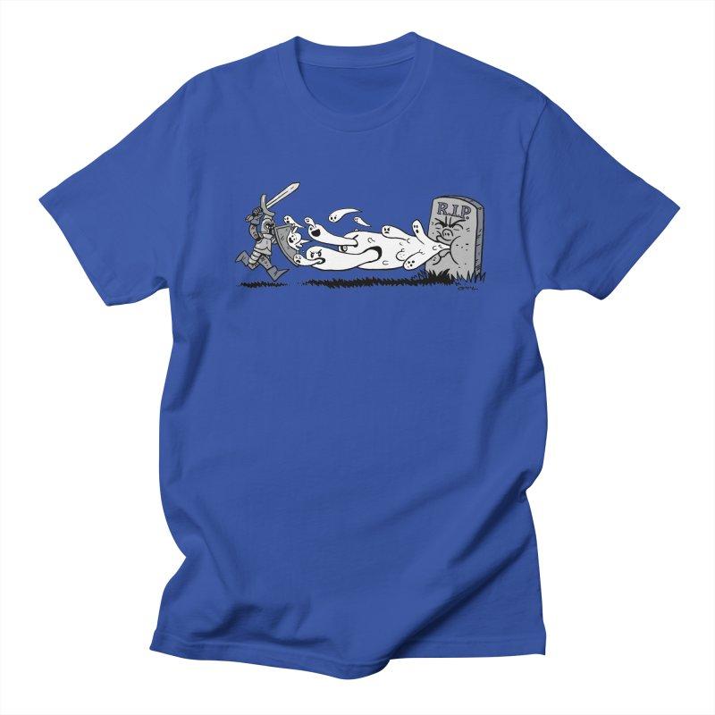 Graveyard Barf Men's Regular T-Shirt by brianmcl's Artist Shop