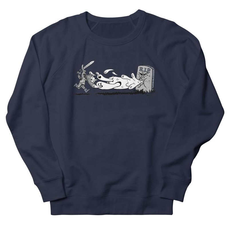 Graveyard Barf Women's French Terry Sweatshirt by brianmcl's Artist Shop