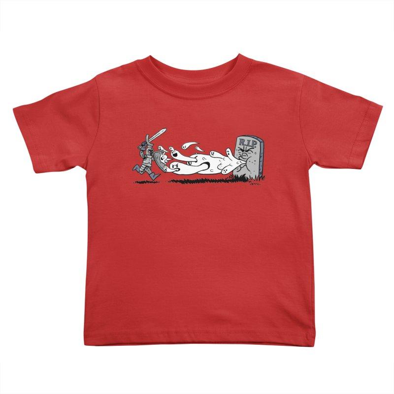 Graveyard Barf Kids Toddler T-Shirt by brianmcl's Artist Shop