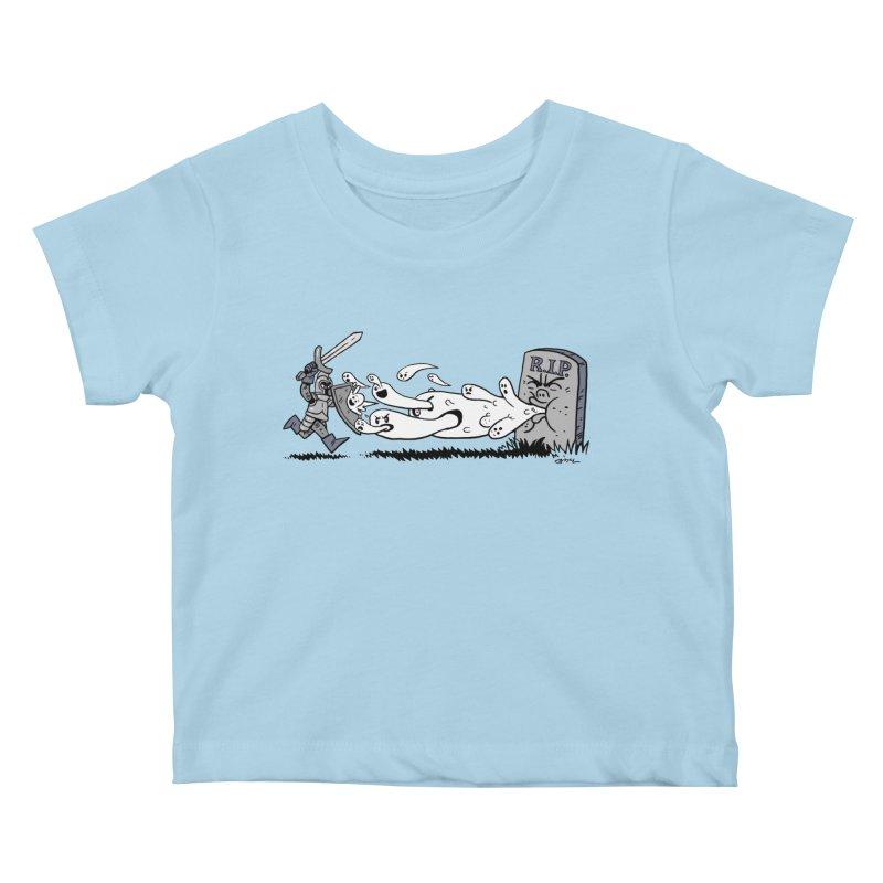 Graveyard Barf Kids Baby T-Shirt by brianmcl's Artist Shop