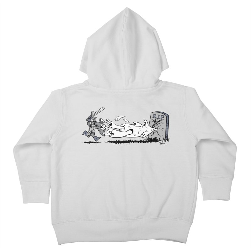 Graveyard Barf Kids Toddler Zip-Up Hoody by brianmcl's Artist Shop