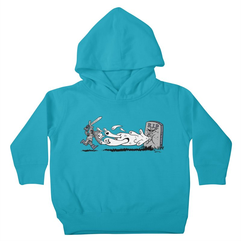 Graveyard Barf Kids Toddler Pullover Hoody by brianmcl's Artist Shop