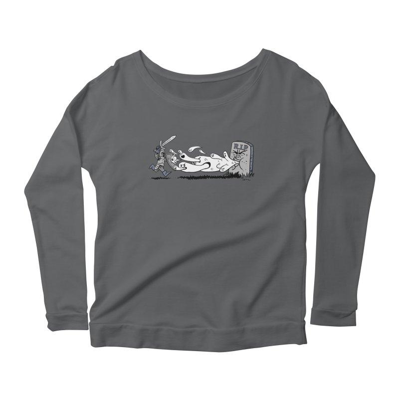 Graveyard Barf Women's Longsleeve T-Shirt by brianmcl's Artist Shop