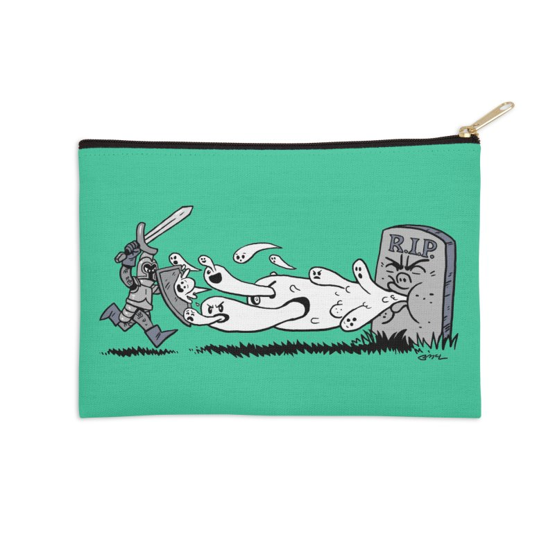 Graveyard Barf Accessories Zip Pouch by brianmcl's Artist Shop