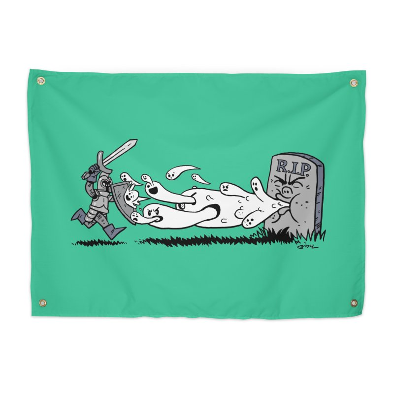 Graveyard Barf Home Tapestry by brianmcl's Artist Shop