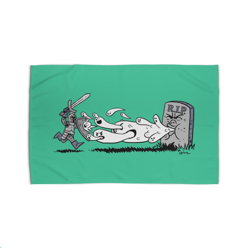 Graveyard Barf Home Rug by brianmcl's Artist Shop