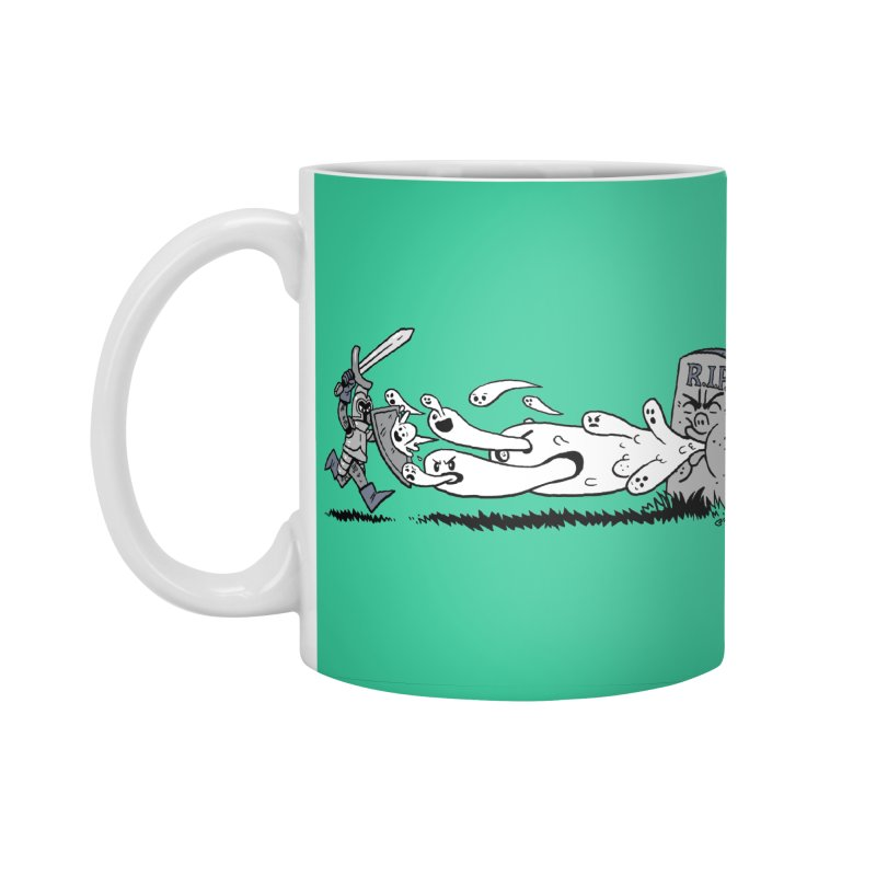 Graveyard Barf Accessories Standard Mug by brianmcl's Artist Shop