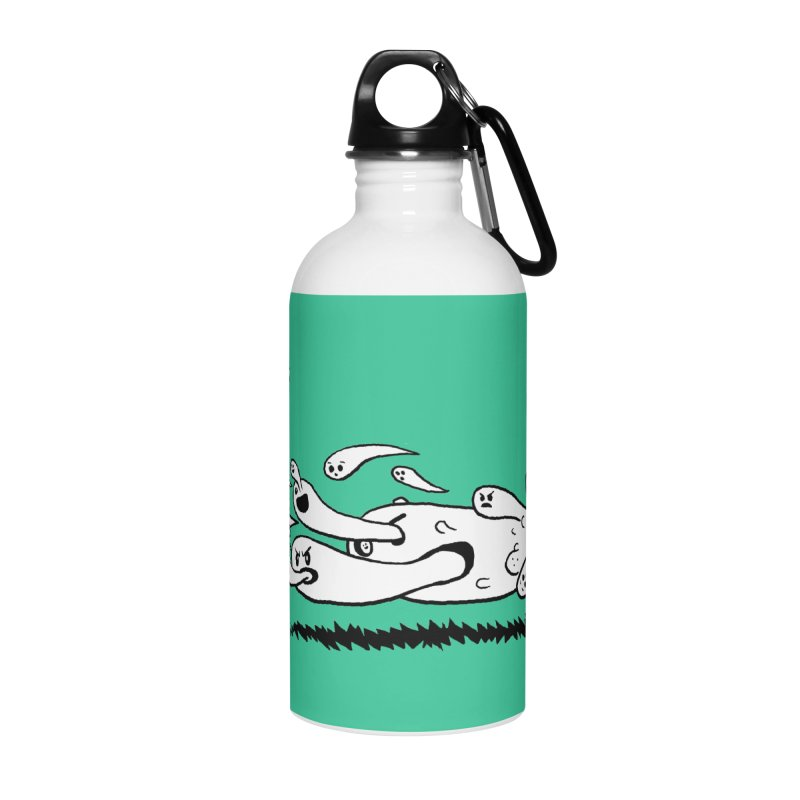 Graveyard Barf Accessories Water Bottle by brianmcl's Artist Shop