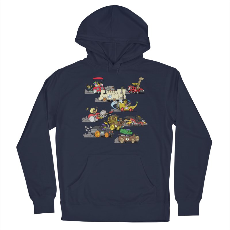 Wild Racers Men's Pullover Hoody by brianmcl's Artist Shop