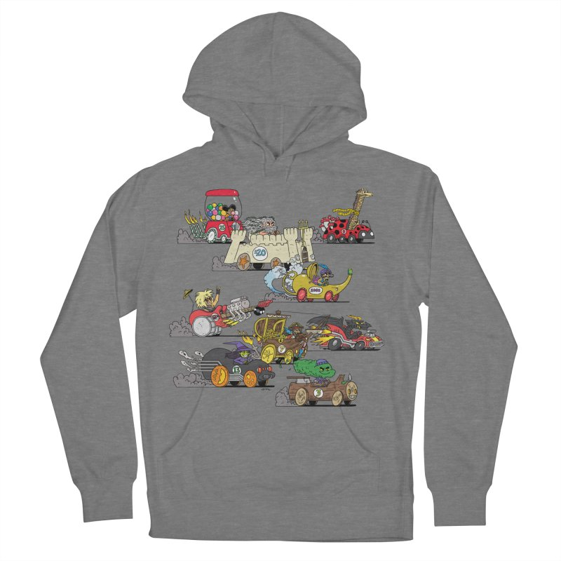 Wild Racers Women's Pullover Hoody by brianmcl's Artist Shop