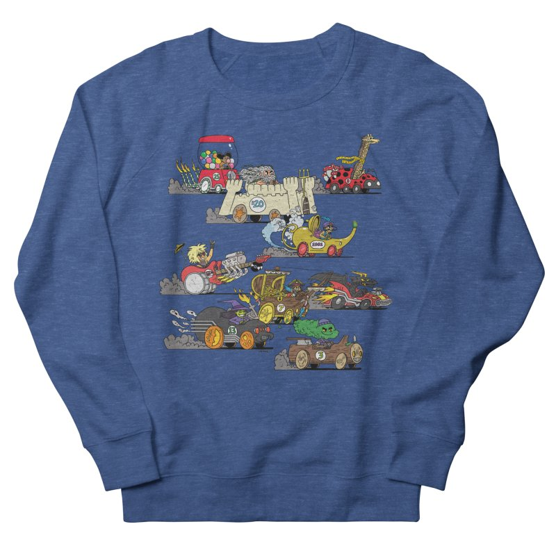 Wild Racers Men's Sweatshirt by brianmcl's Artist Shop