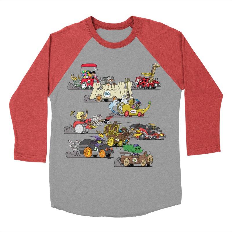 Wild Racers Men's Longsleeve T-Shirt by brianmcl's Artist Shop