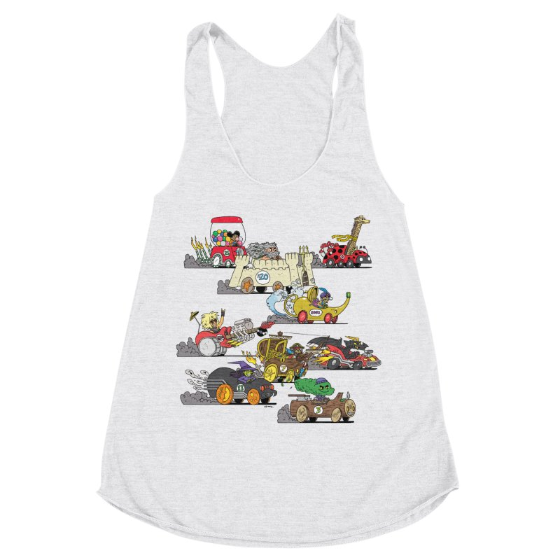 Wild Racers Women's Tank by brianmcl's Artist Shop