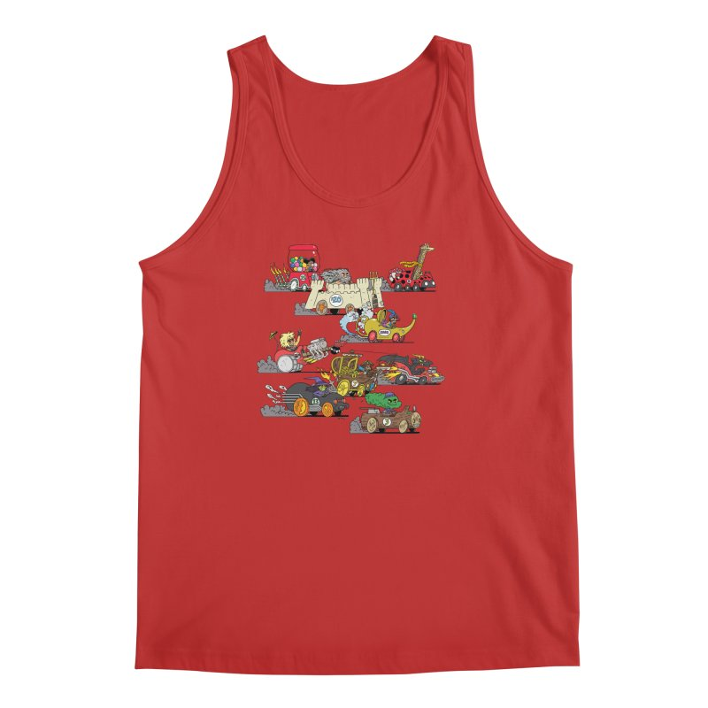 Wild Racers Men's Regular Tank by brianmcl's Artist Shop