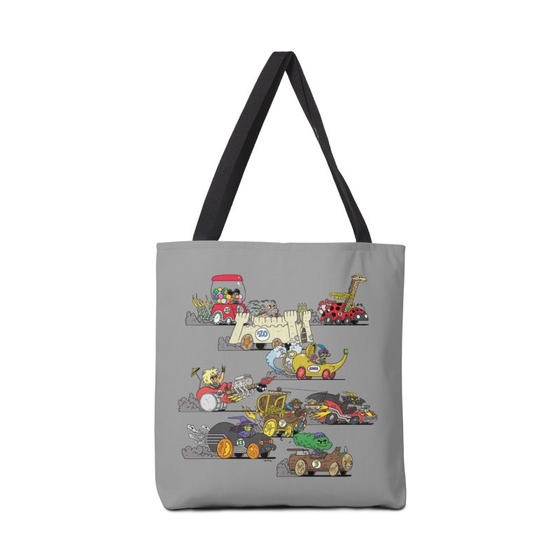 Wild Racers Accessories Tote Bag Bag by brianmcl's Artist Shop