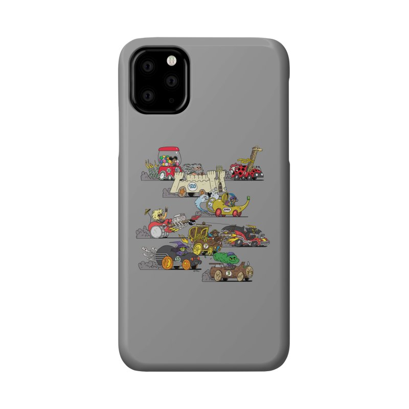 Wild Racers Accessories Phone Case by brianmcl's Artist Shop