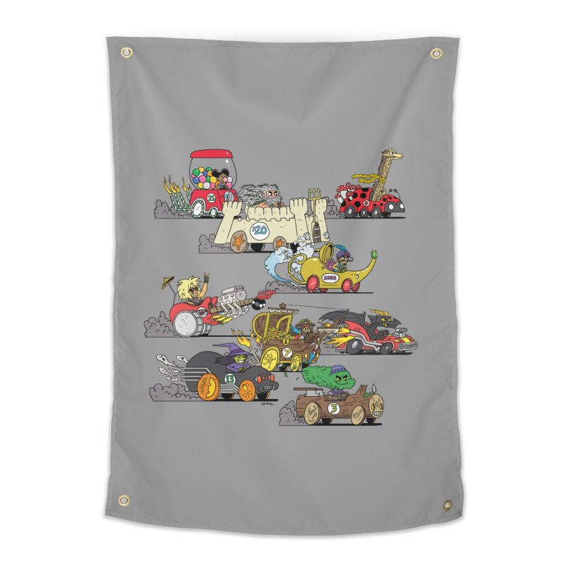 Wild Racers Home Tapestry by brianmcl's Artist Shop