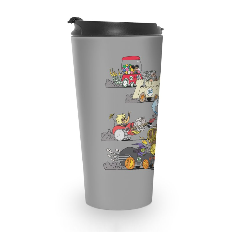 Wild Racers Accessories Travel Mug by brianmcl's Artist Shop