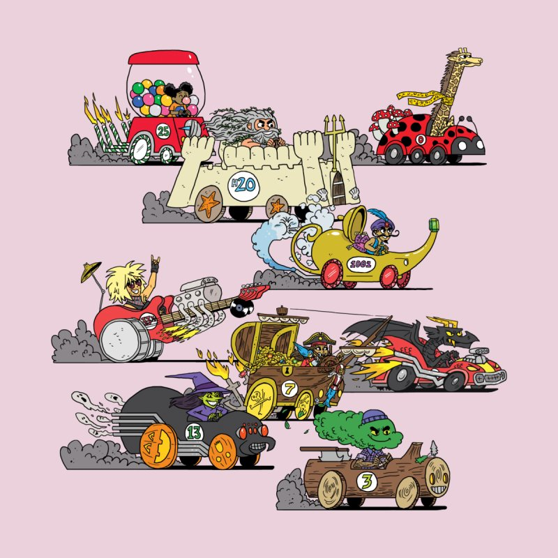 Wild Racers by brianmcl's Artist Shop