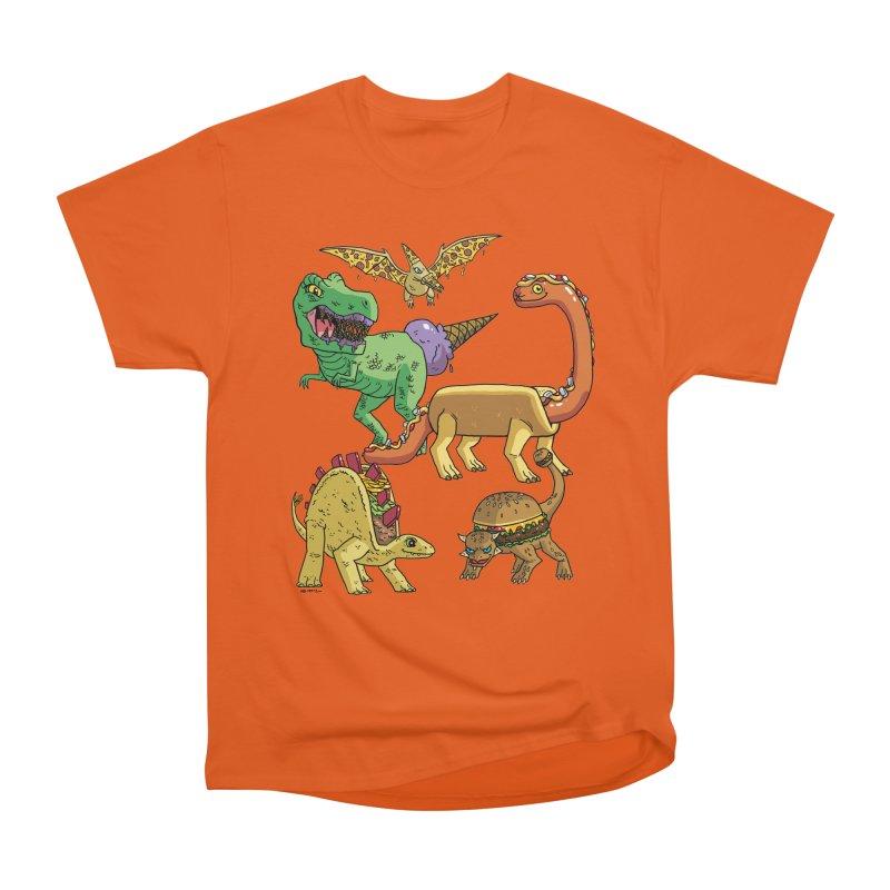 Jurassic Junk Food Women's T-Shirt by brianmcl's Artist Shop
