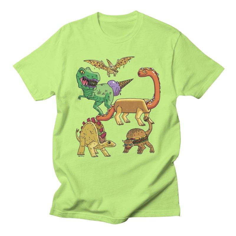 Jurassic Junk Food Women's Regular Unisex T-Shirt by brianmcl's Artist Shop