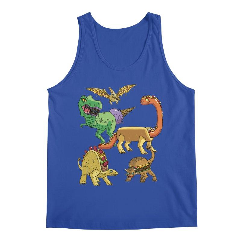 Jurassic Junk Food Men's Regular Tank by brianmcl's Artist Shop