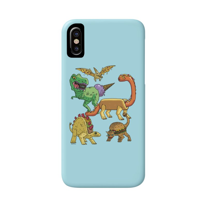 Jurassic Junk Food Accessories Phone Case by brianmcl's Artist Shop