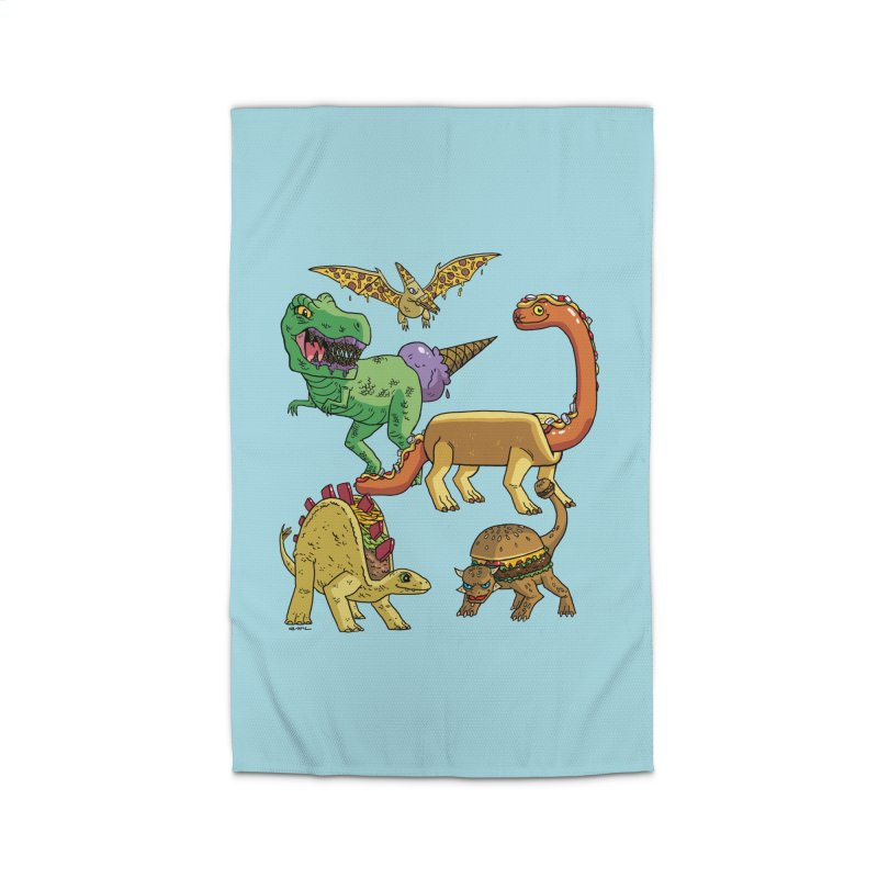 Jurassic Junk Food Home Rug by brianmcl's Artist Shop