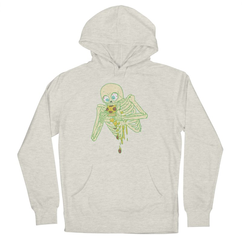 I'm So Pizza - Green Women's French Terry Pullover Hoody by brianmcl's Artist Shop