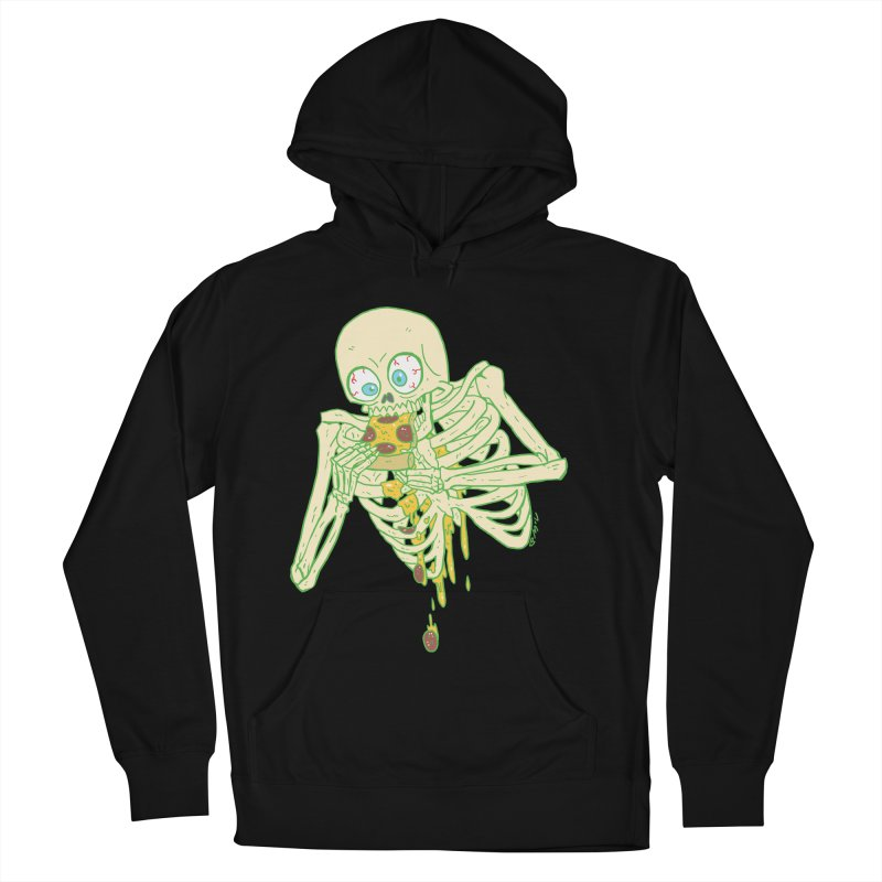 I'm So Pizza - Green Men's French Terry Pullover Hoody by brianmcl's Artist Shop