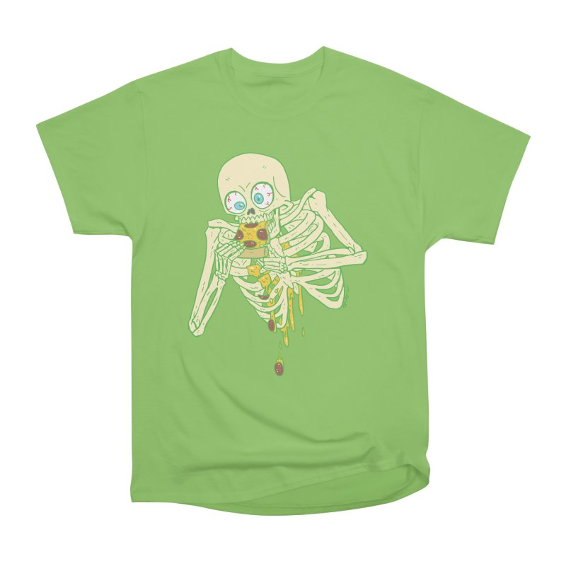 I'm So Pizza - Green Women's Heavyweight Unisex T-Shirt by brianmcl's Artist Shop
