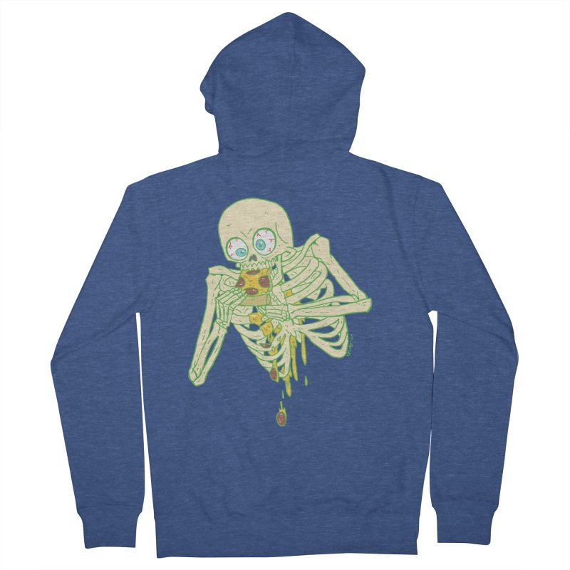 I'm So Pizza - Green Women's French Terry Zip-Up Hoody by brianmcl's Artist Shop