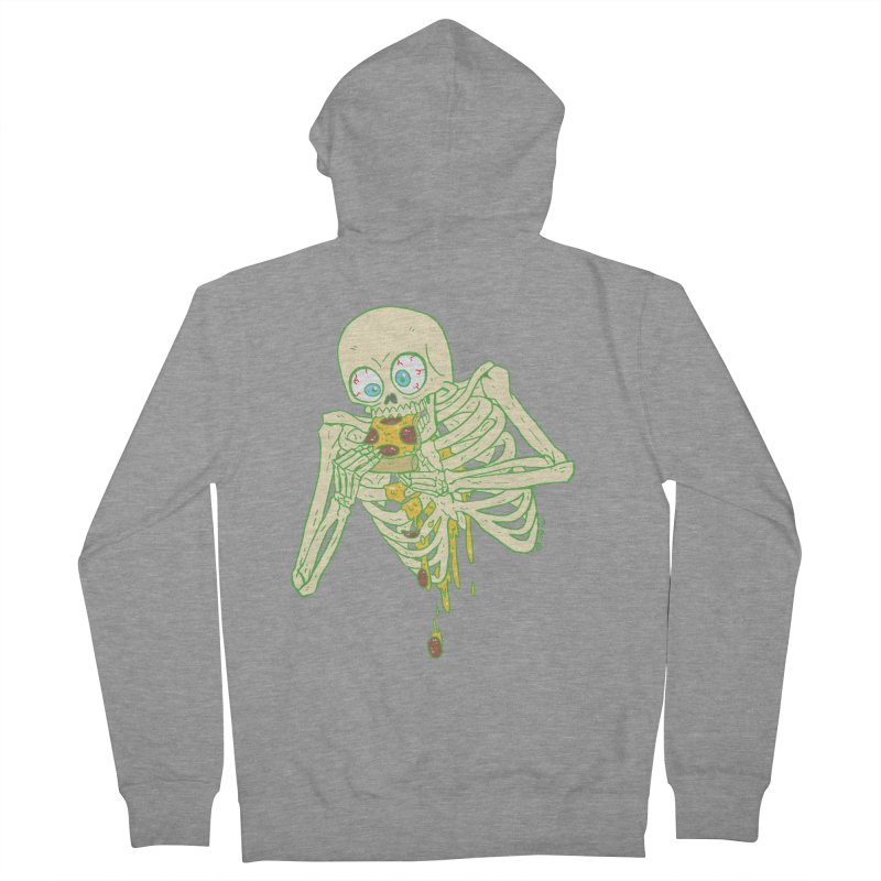 I'm So Pizza - Green Men's French Terry Zip-Up Hoody by brianmcl's Artist Shop
