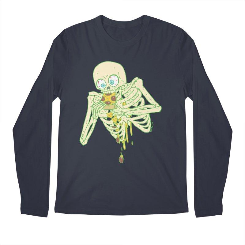 I'm So Pizza - Green Men's Regular Longsleeve T-Shirt by brianmcl's Artist Shop